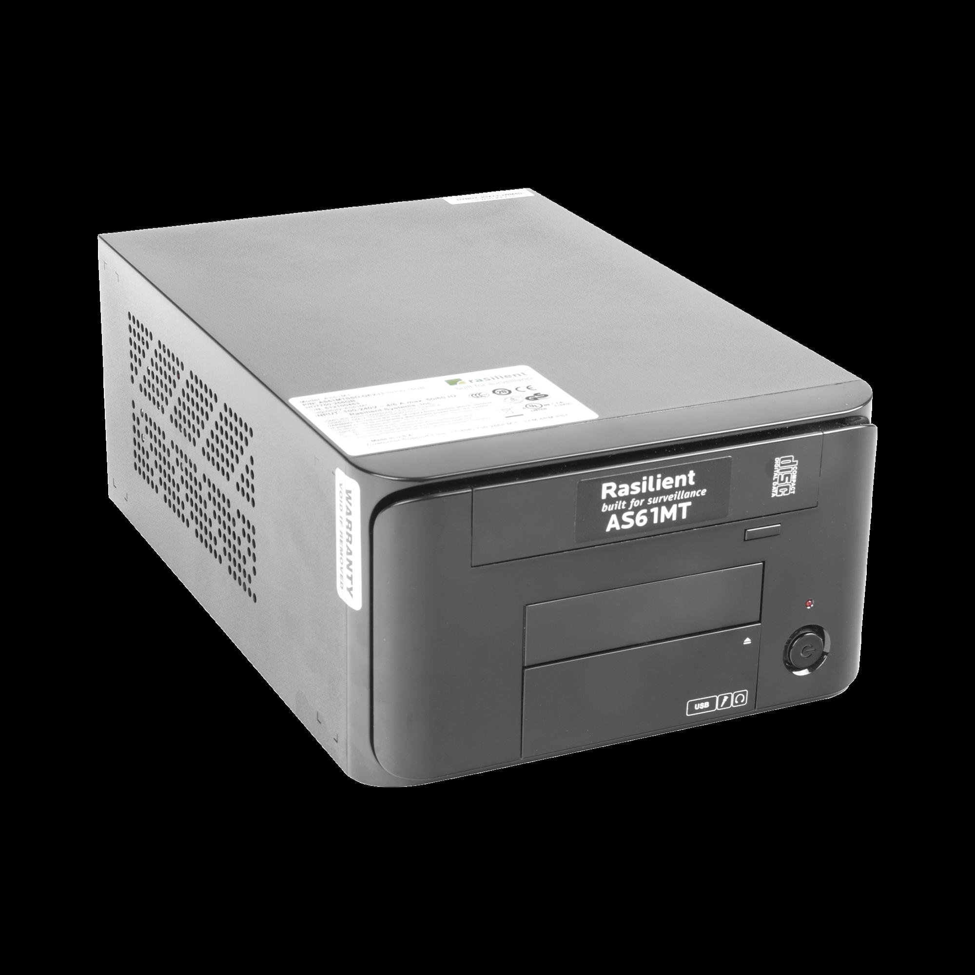 Estación de Trabajo para Visualización FullHD / Grabación Videovigilancia, Alto Desempeño, 3 Años de Garantía, 240GB SSD, 16GB RAM
