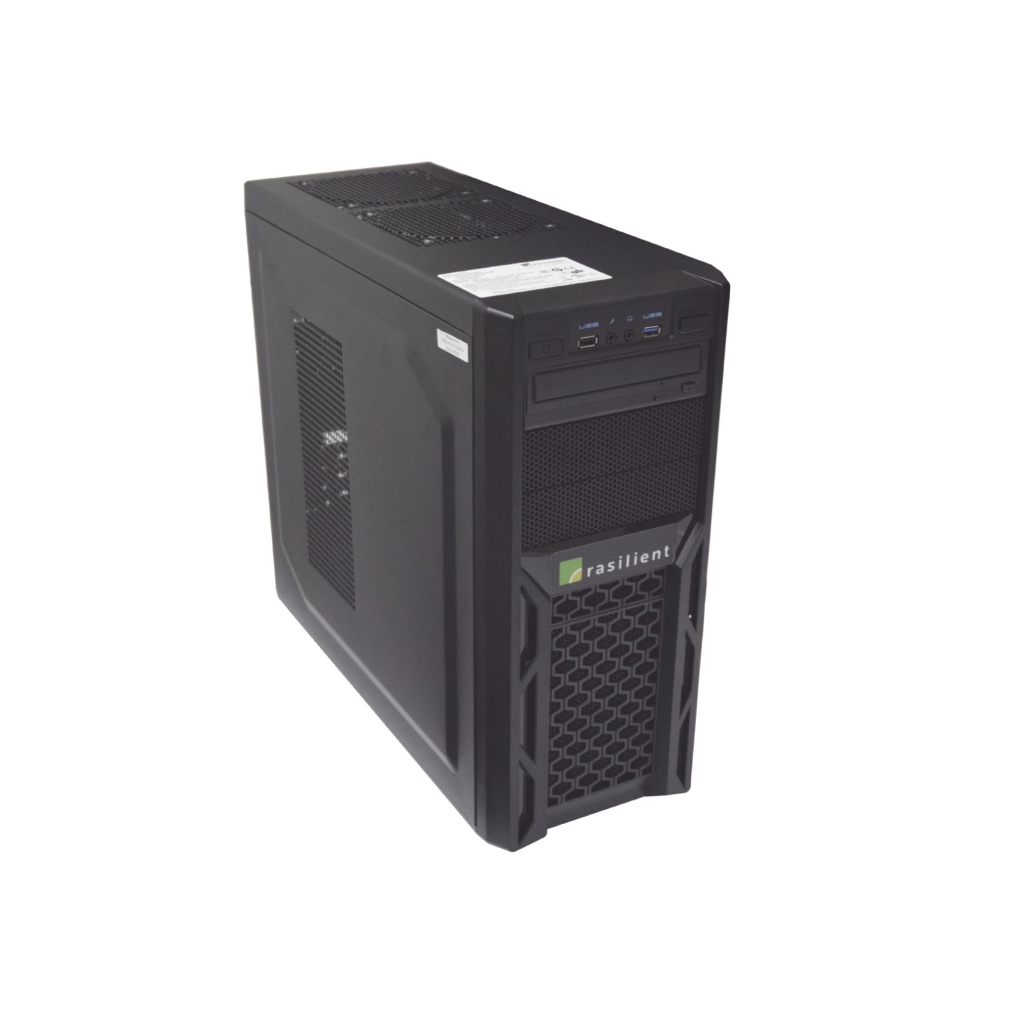 Estación de Trabajo para Visualización 4K/Grabación Videovigilancia, ALTO DESEMPEÑO, Xeon E3, 240GB SSD, 8GB RAM, GTX 1050 4GB