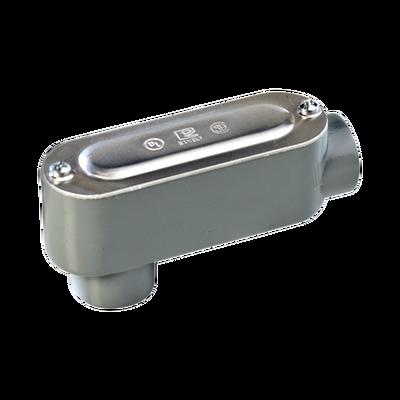 """Caja Condulet tipo LB de 1/2"""" (12.7 mm) Incluye tapa y tornillos."""