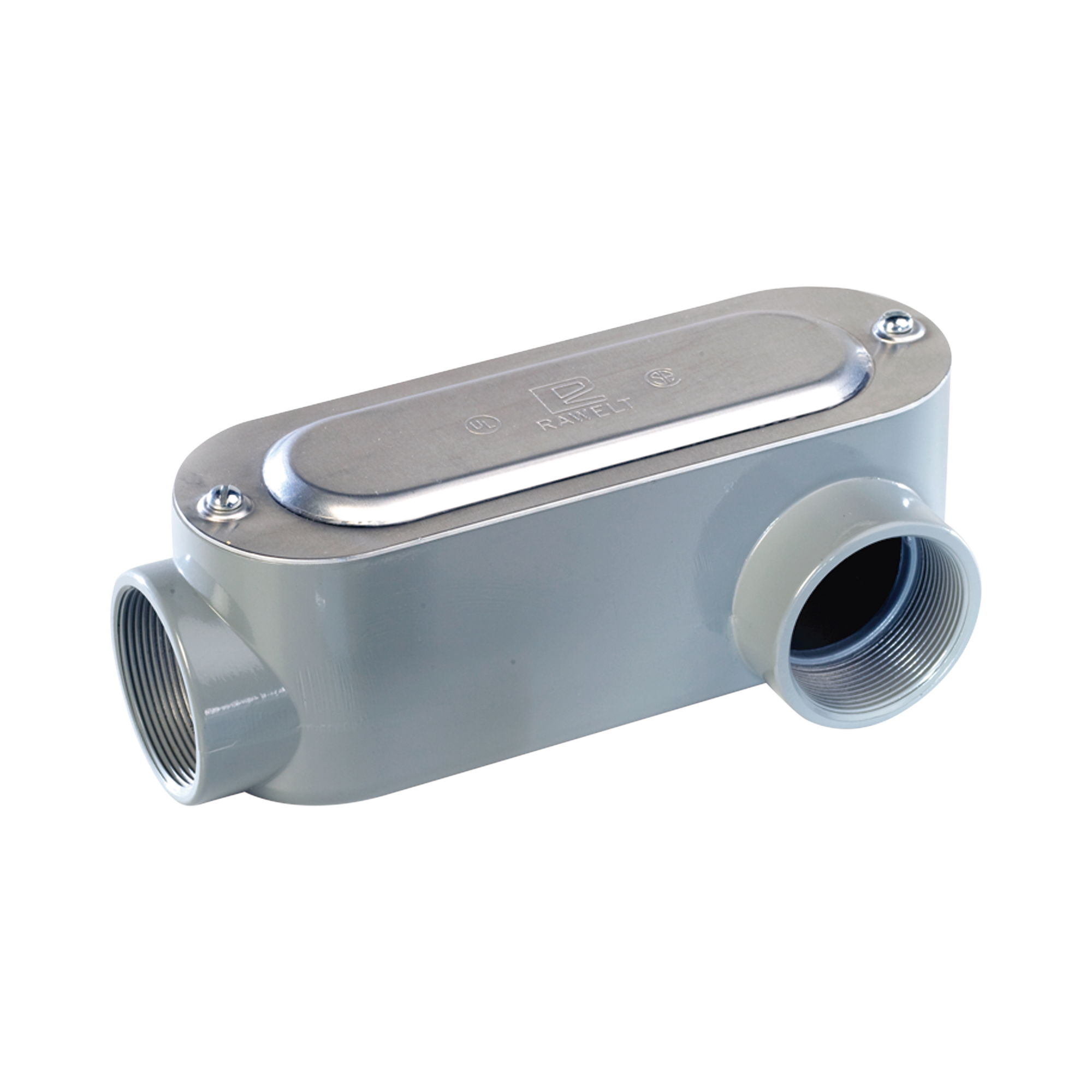 Caja Condulet tipo LL de 1/2 (12.7 mm) Incluye tapa y tornillos.