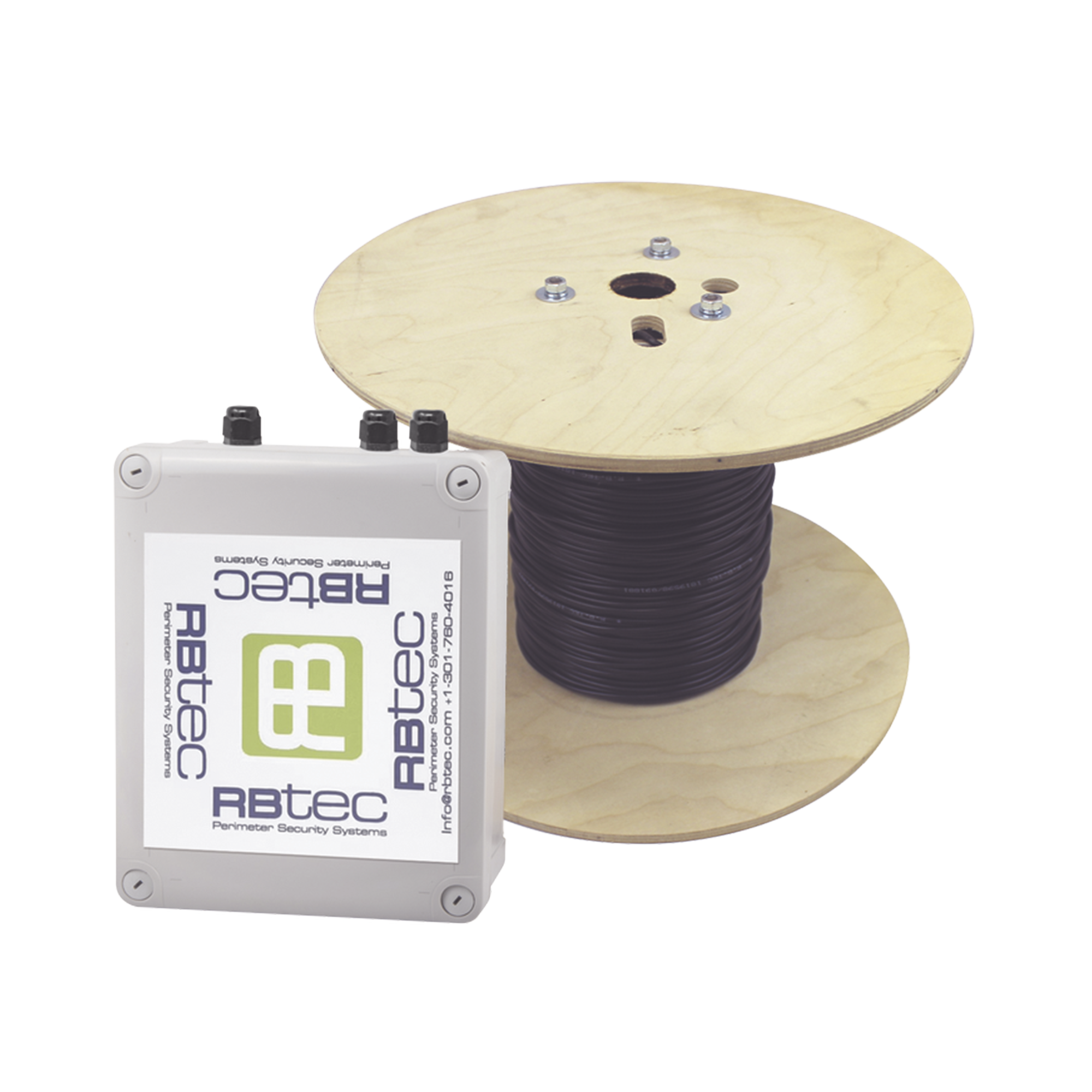 MICALERT Cable Sensor para Paredes, barandales , Rejas rígidas / 1 zona de 152 metros de proteccion