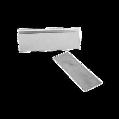"""Montaje """"U"""" para Puertas de Vidrio/ 3/4"""" de Grosor/Para chapas magnéticas de 600 y 750 lbs / Ajuste por Opresores"""