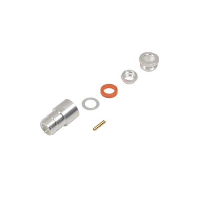 Conector N Hembra de anillo plegable para cables RG-8/U (BELDEN 8237), RG213/U (8267), RG214 (8268).
