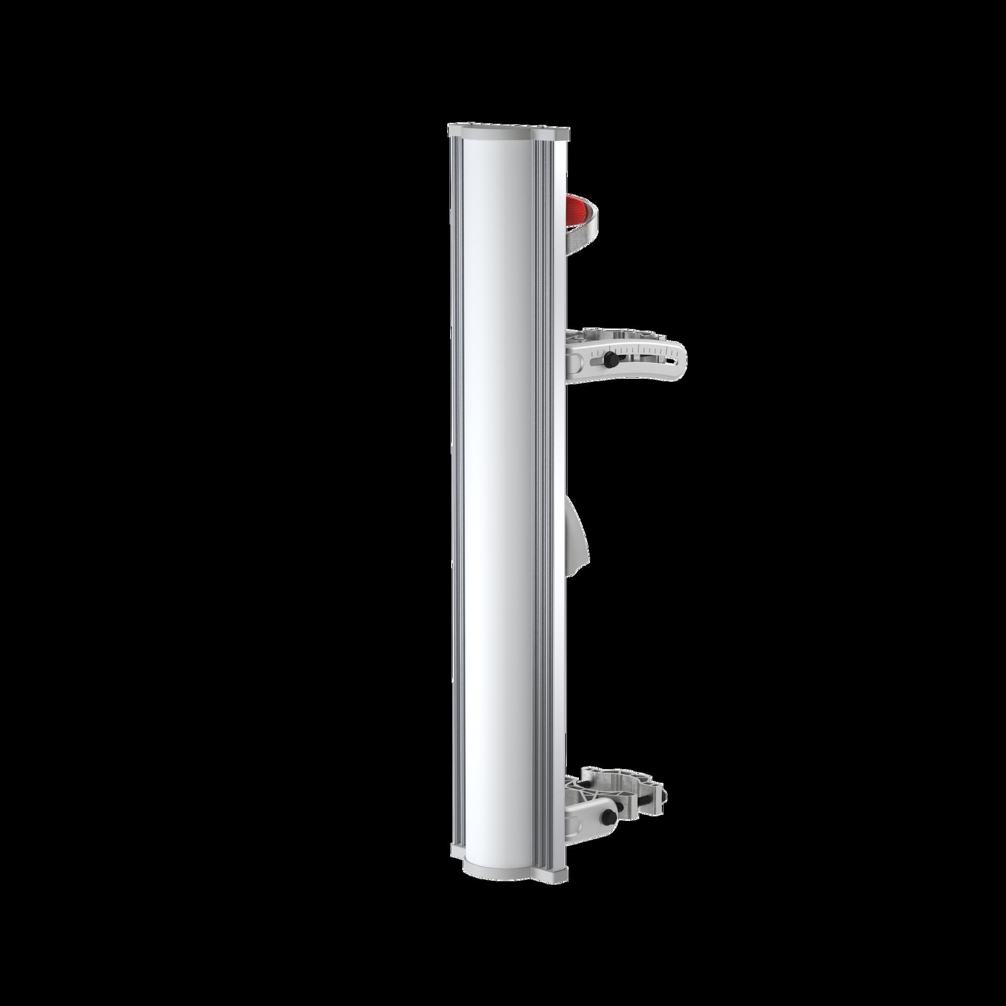 Antena Sectorial 100? Tipo Panel en 2.4 GHz, Ganancia de 14 dBi, BackShield para rechazo al ruido