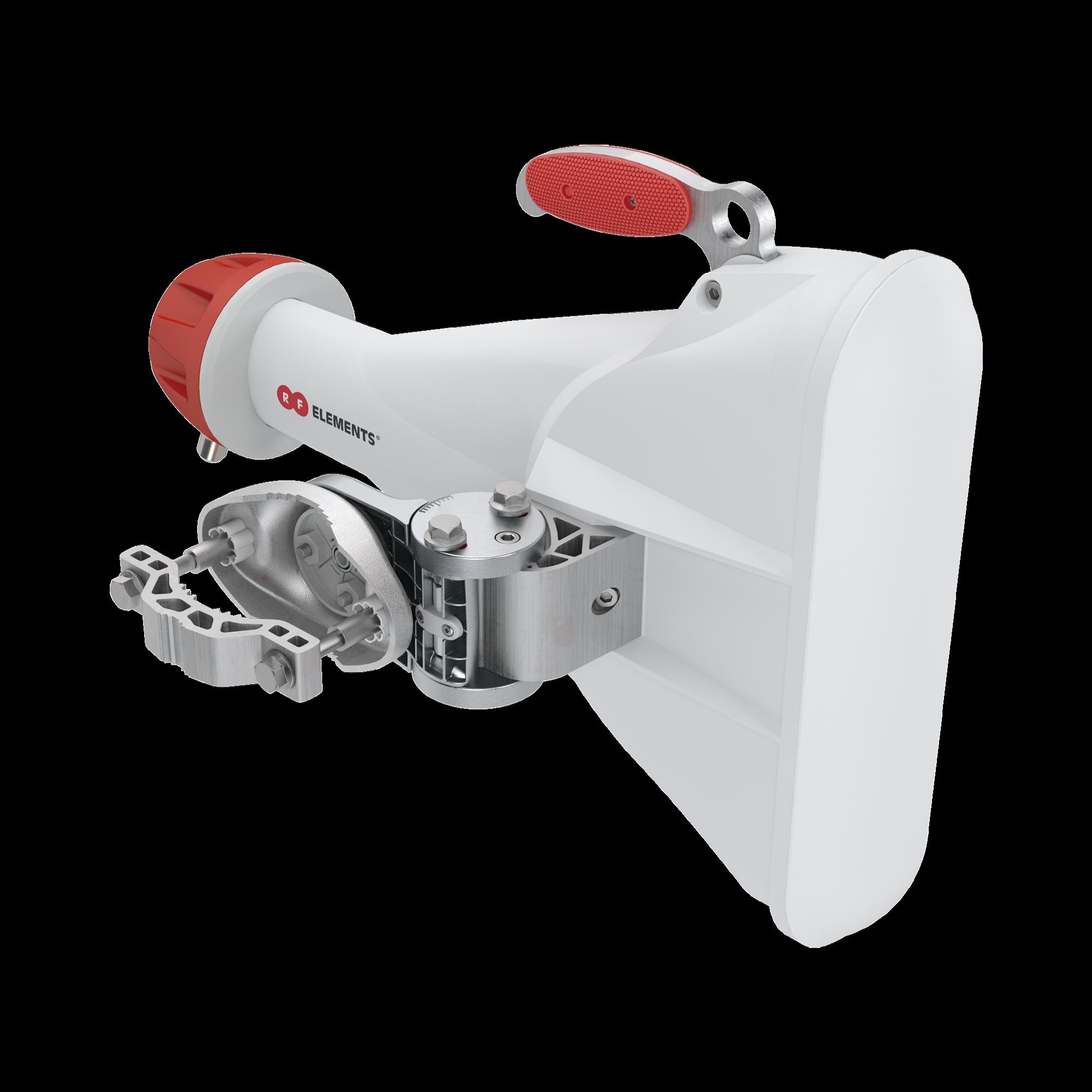 Antena Sectorial Asimétrica Carrier Class apertura 60 grados tipo cuerno 17 dBi 5180-6000 MHz conectores tipo N hembra