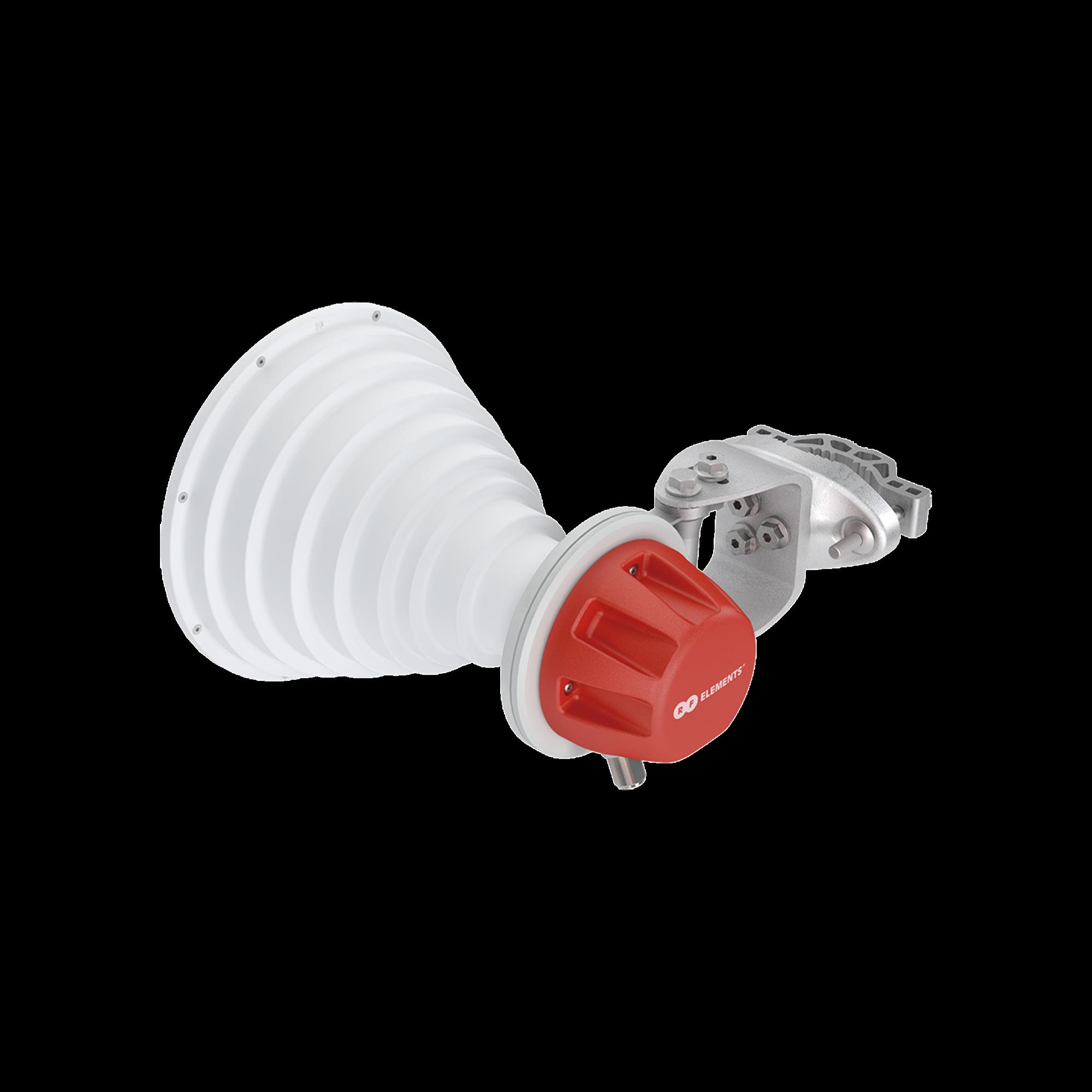 Antena Sectorial Simétrica Carrier Class GEN2 de 30? 18.4 dBi 5180-6400 MHz conectorizada soporte mejorado y mayor calidad de materiales para ambientes de alto ruido