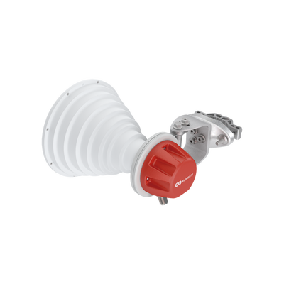 Antena Sectorial Simétrica Carrier Class GEN2 de 30° 18.4 dBi 5180-6400 MHz conectorizada soporte mejorado y mayor calidad de materiales para ambientes de alto ruido