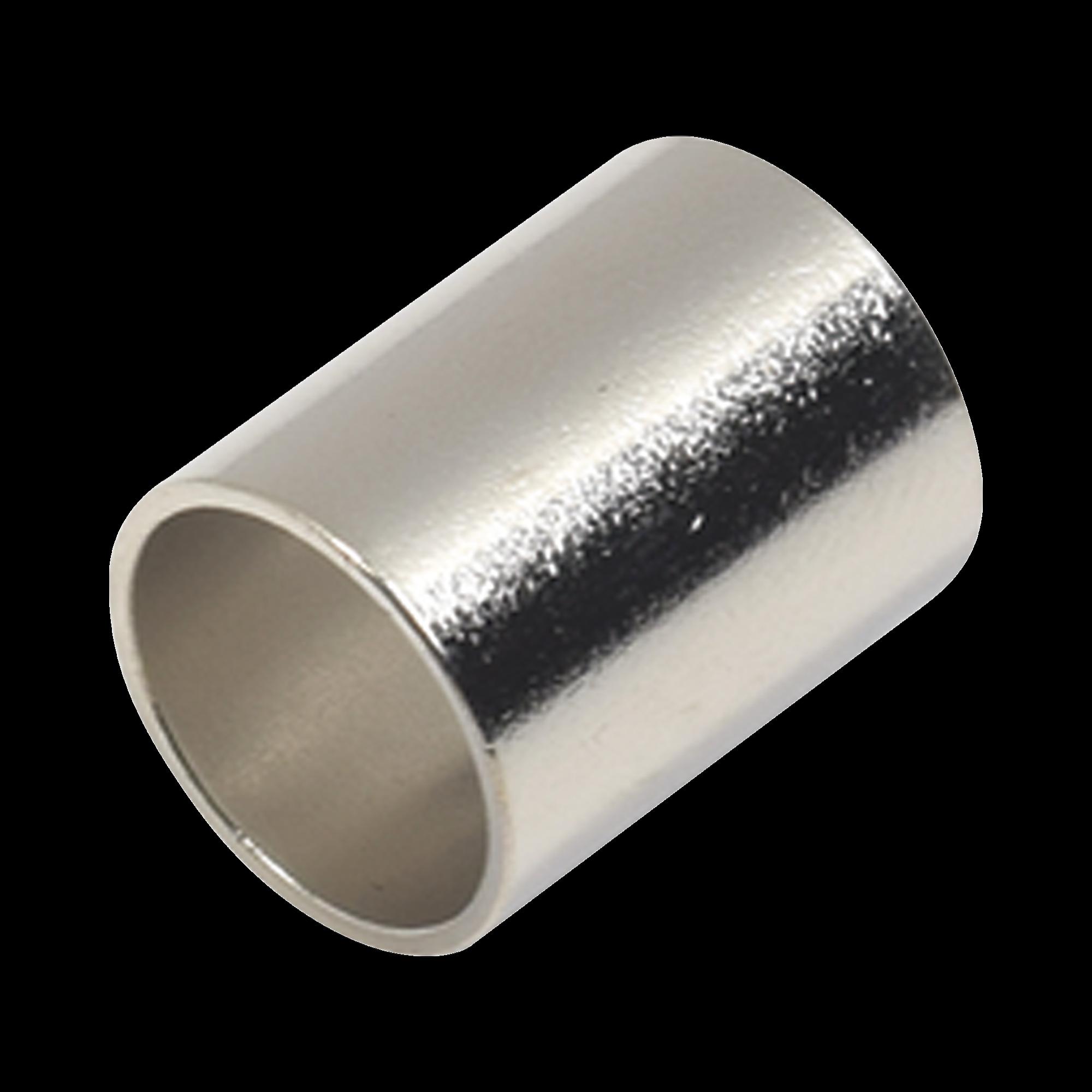 Férula-Casquillo en Chapa de Plata para Plegar en Cables del Grupo E, I como RG-8/U, RG-213/U, LMR-400.