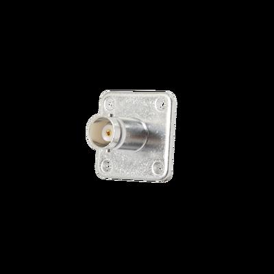 Conector BNC Hembra para Chasis, 18 mm uso en Duplexers Syscom con UG-177/U.