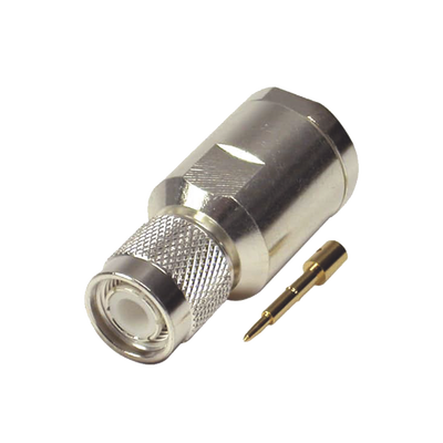 Conector TNC macho de 50 Ohms para cable BELDEN 9913, 7810A, 8214; ANDREW CNT-400; SYSCOM RG8/U-SYS, RFLASH-1113