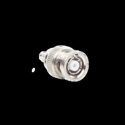 Conector BNC Macho Inverso, de anillo plegable para cables RG-58/U, RG-142/U.