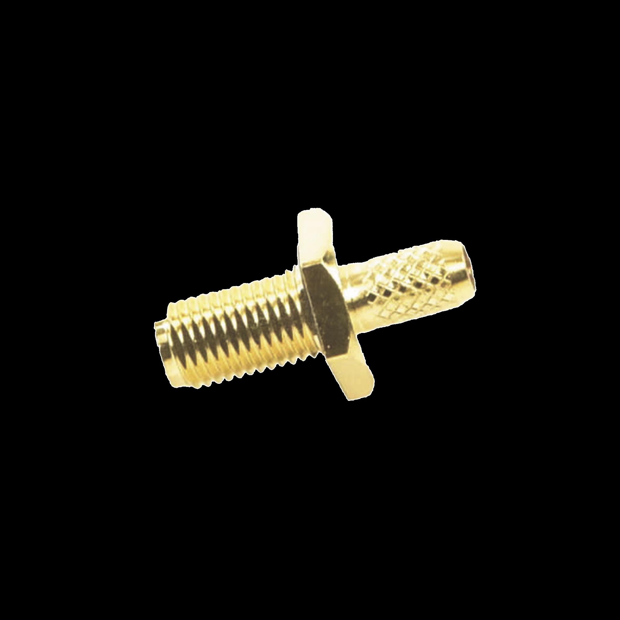 Conector SMA Hembra Inverso / Chasis en D Plano, Anillo Plegable / Cable RG-142/U.