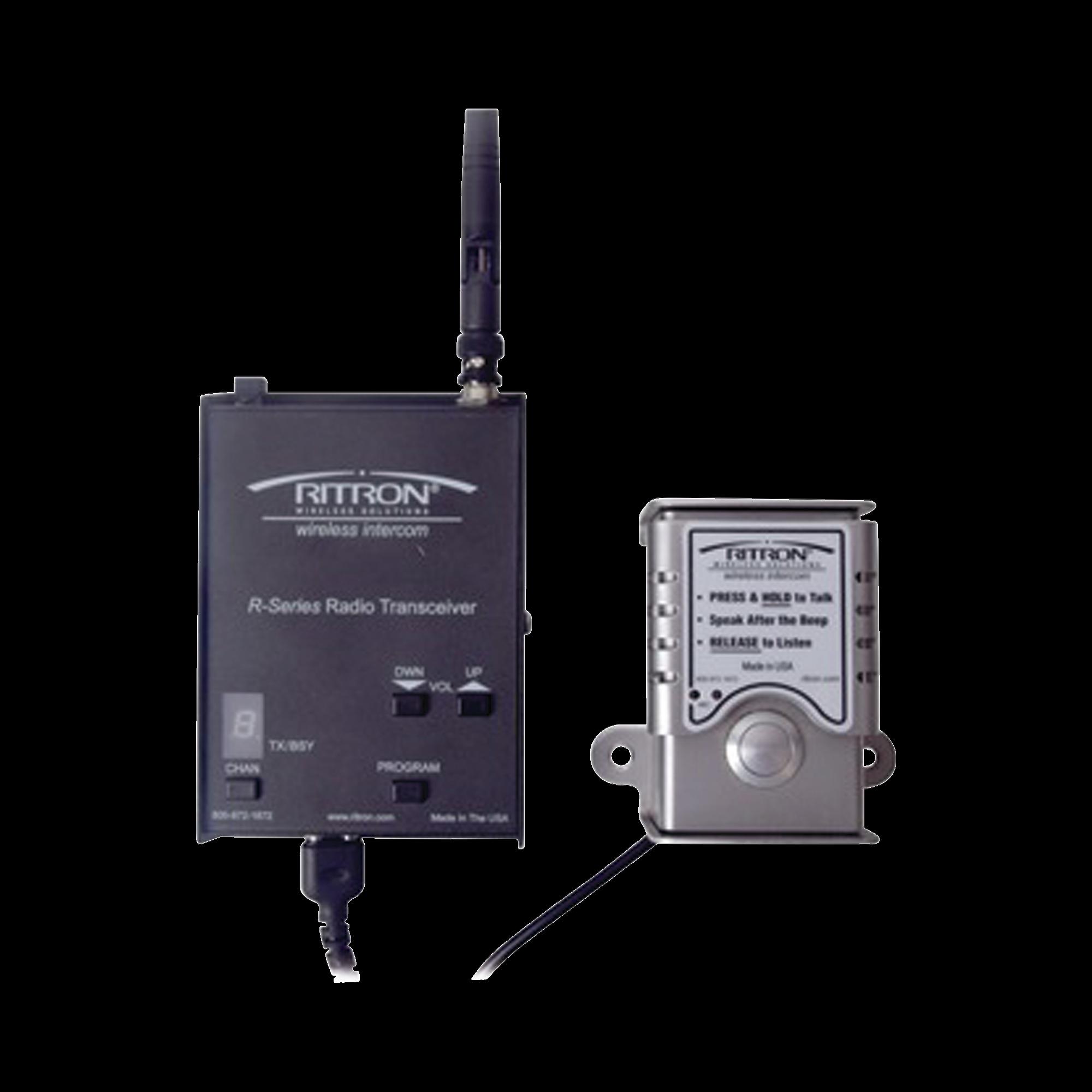 DOORCOM  Portero Inalámbrico, Hasta 2 KM, UHF 450-470 Mhz