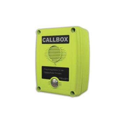 Callbox, Intercomunicador Inalámbrico Vía Radio UHF 450-470MHZ, Serie Q1 en Color Verde