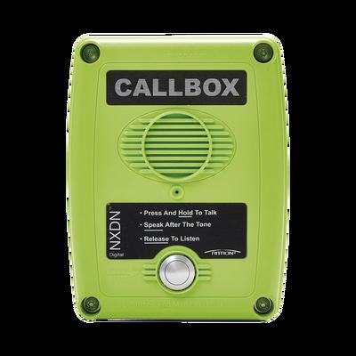 Callbox Digital NXDN, Intercomunicador  Inalámbrico  UHF 450-470MHZ,  Color Verde
