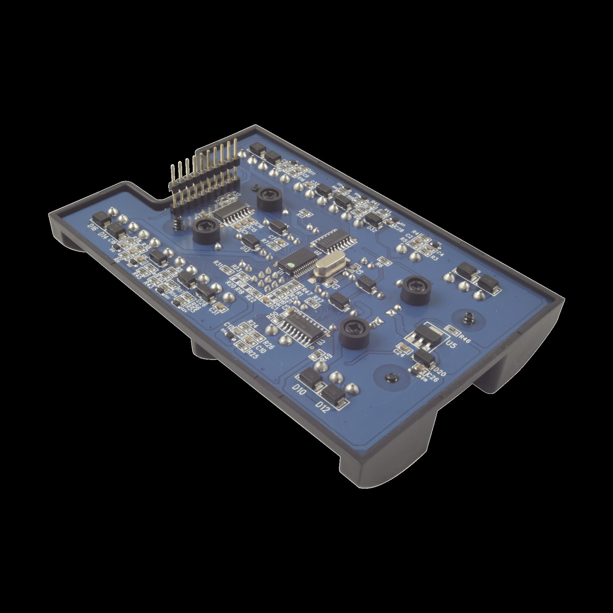 Módulo expansor de 2 lectoras / Para panel AC-225IP-BU