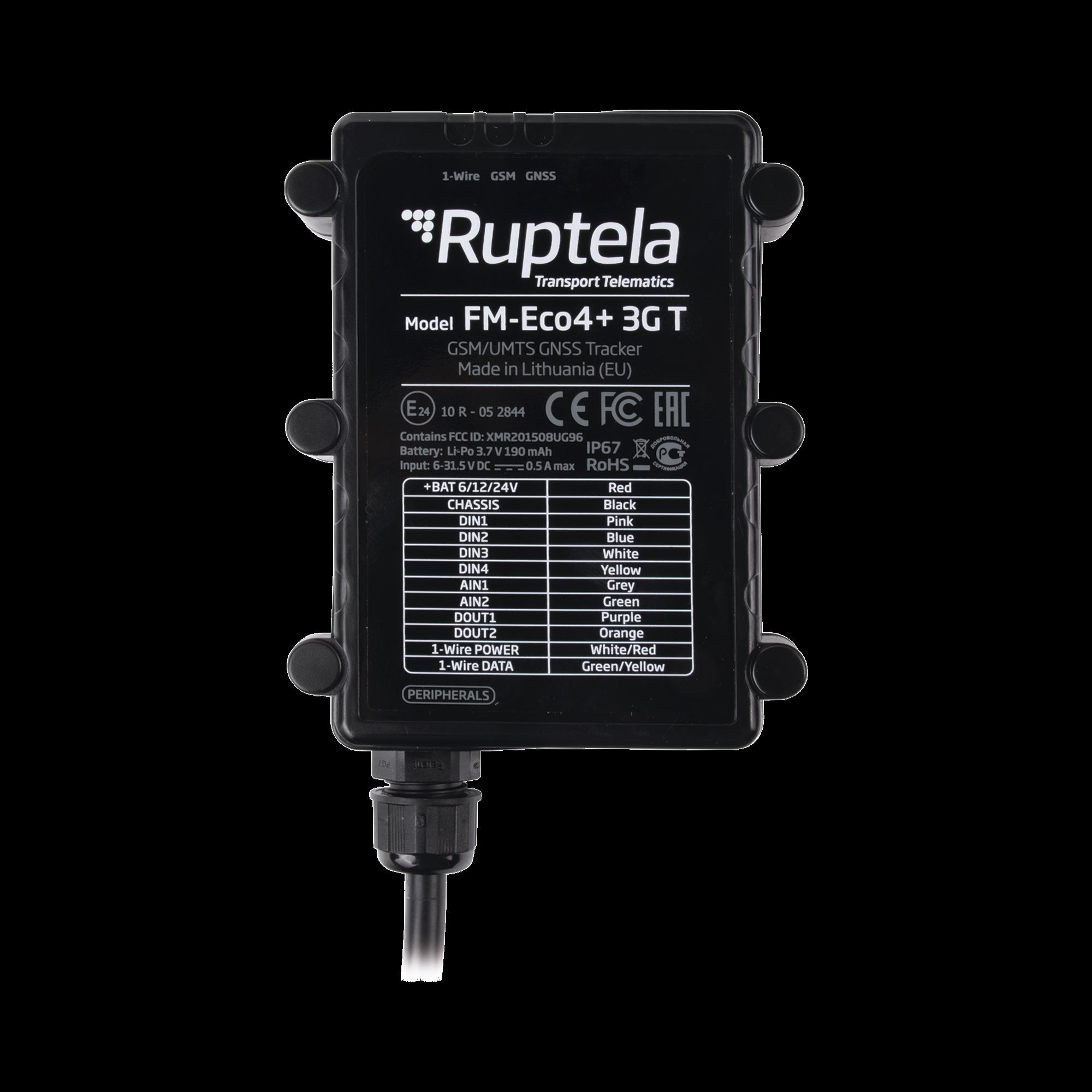 Localizador vehicular 3G / Antenas internas / Contra agua y polvo IP67 / ideal para motocicletas / RFID / Apagado de motor a distancia / Anti Jammer