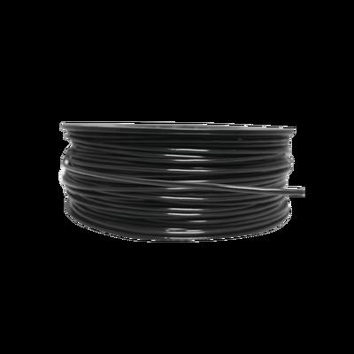 Bobina de 152 Metros de Cable Detector de Calor, Temperatura Fija 68 grados Celsius, Recubrimiento de Nylon Negro para Aplicaciones en Exterior, con Guía Acerada