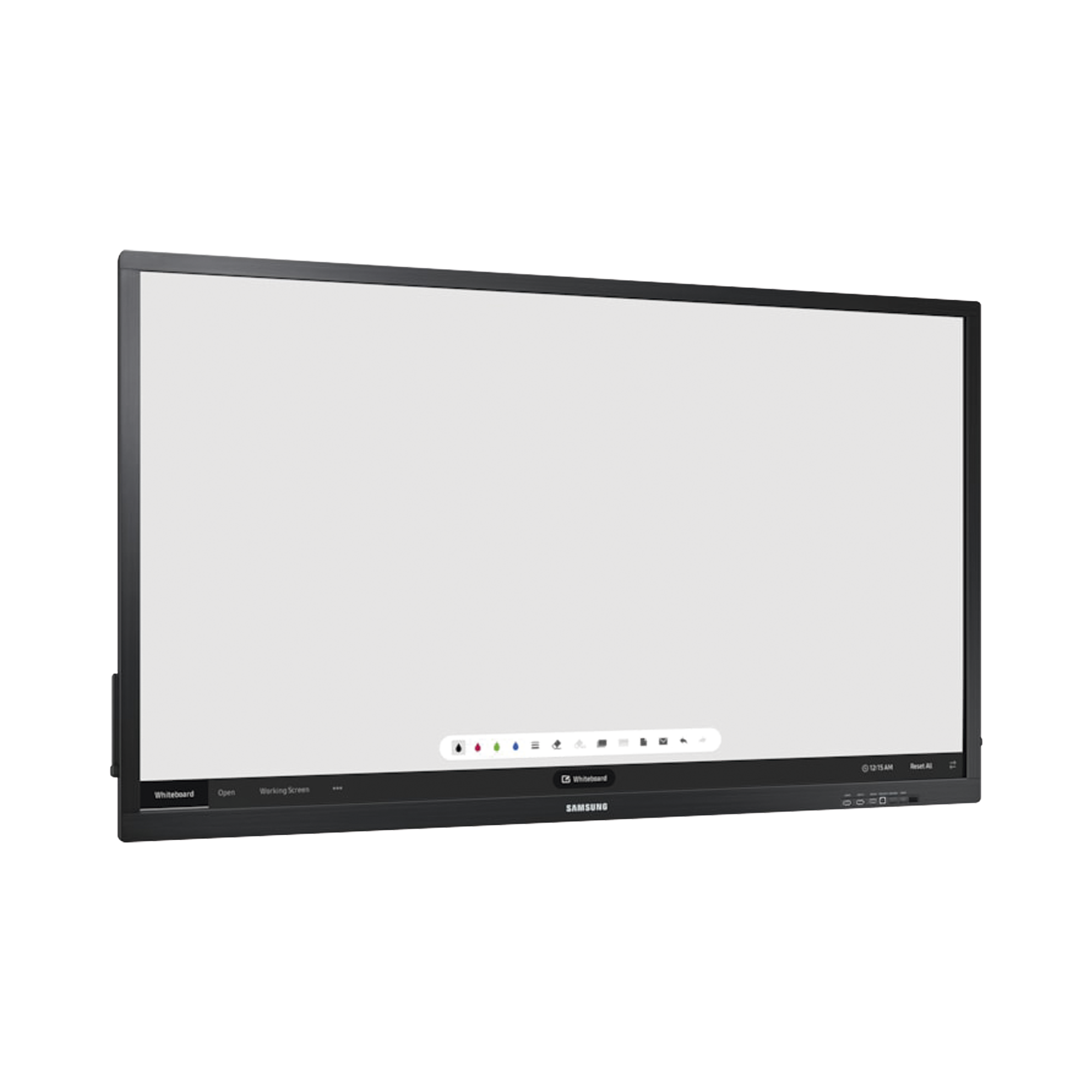 Display 4K WiFi Interactivo de 75 con Lápiz Táctil.  Puertos USB/LAN/RS232/HDMI/Salida Touch. Compatible VESA