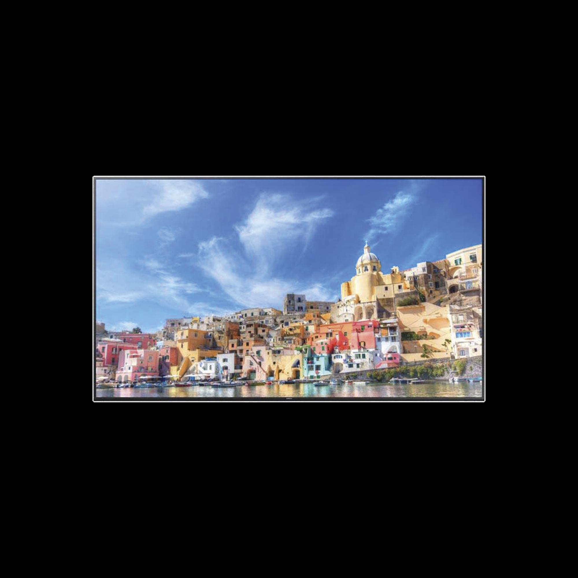 Pantalla Profesional SLIM DIRECT LED BLU de 85, Resolución 4K (UHD), Entradas de Video  DVI / HDMI / DisplayPort / D-SUB / HDCP