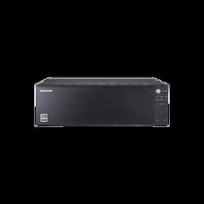 NVR de 64 canales / Soporta grabación hasta 12MP / H.265 & Wisestream / Capacidad de procesamiento 400Mpbs / 4 Puertos de Red / Función ARB y Failover
