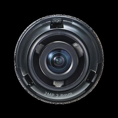 Lente 2 MP de 2.8 mm para Cámara PNM-9320VQP