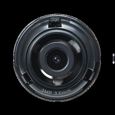 Lente 2 MP de 3.6 mm para Cámara PNM-9320VQP
