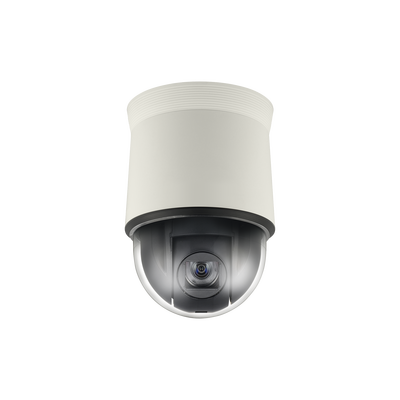 Domo IP PTZ, 2MP Full HD, 32X zoom, WDR avanzado, video análisis, acepta memoria SD/SDHC, para Interior