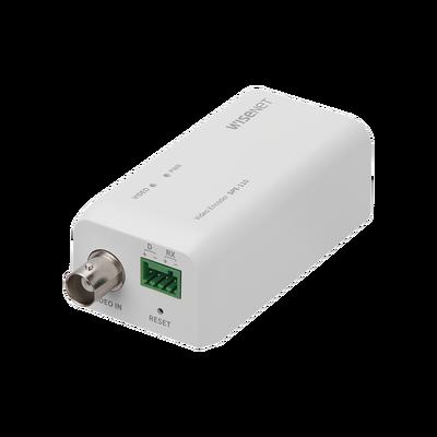 Convertidor de cámaras análogas HD a IP / 1 canal / Hasta 4 MP / 4 Tecnologías (TVI, AHD, CVI y CVBS)