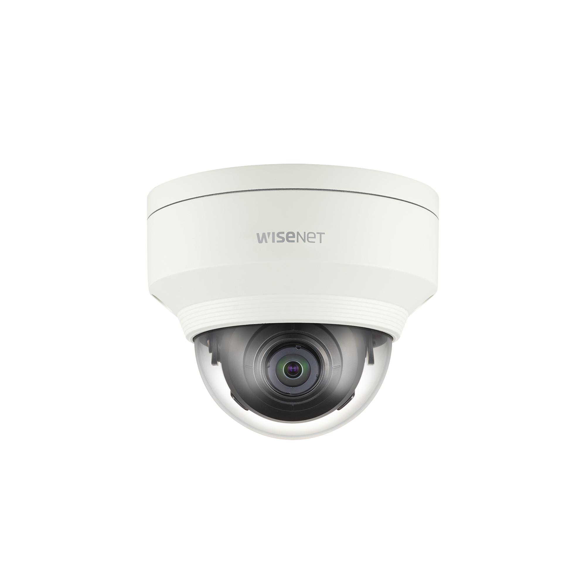 Cámara IP Domo Interior 2MP / Lente 2.4mm / WDR 150db / H.265 & WiseStream / IK08 / Conteo de Personas
