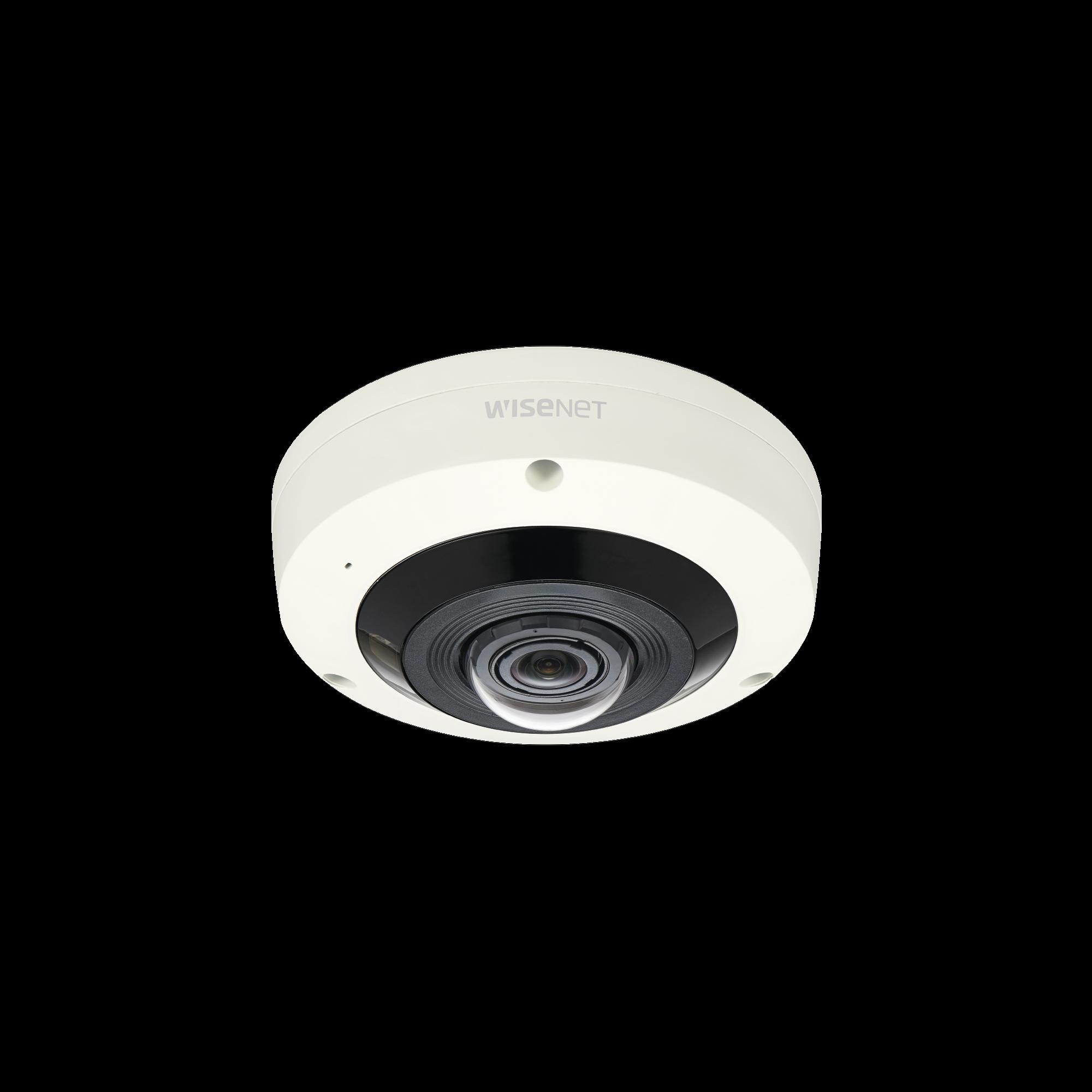 Fisheye 6 Megapixel / WDR 120dB / IR 15m / PTZ Digital 8X / Video Analíticos Avanzados / IP66 / IK10 / Entrada y Salida de Audio y Alarma