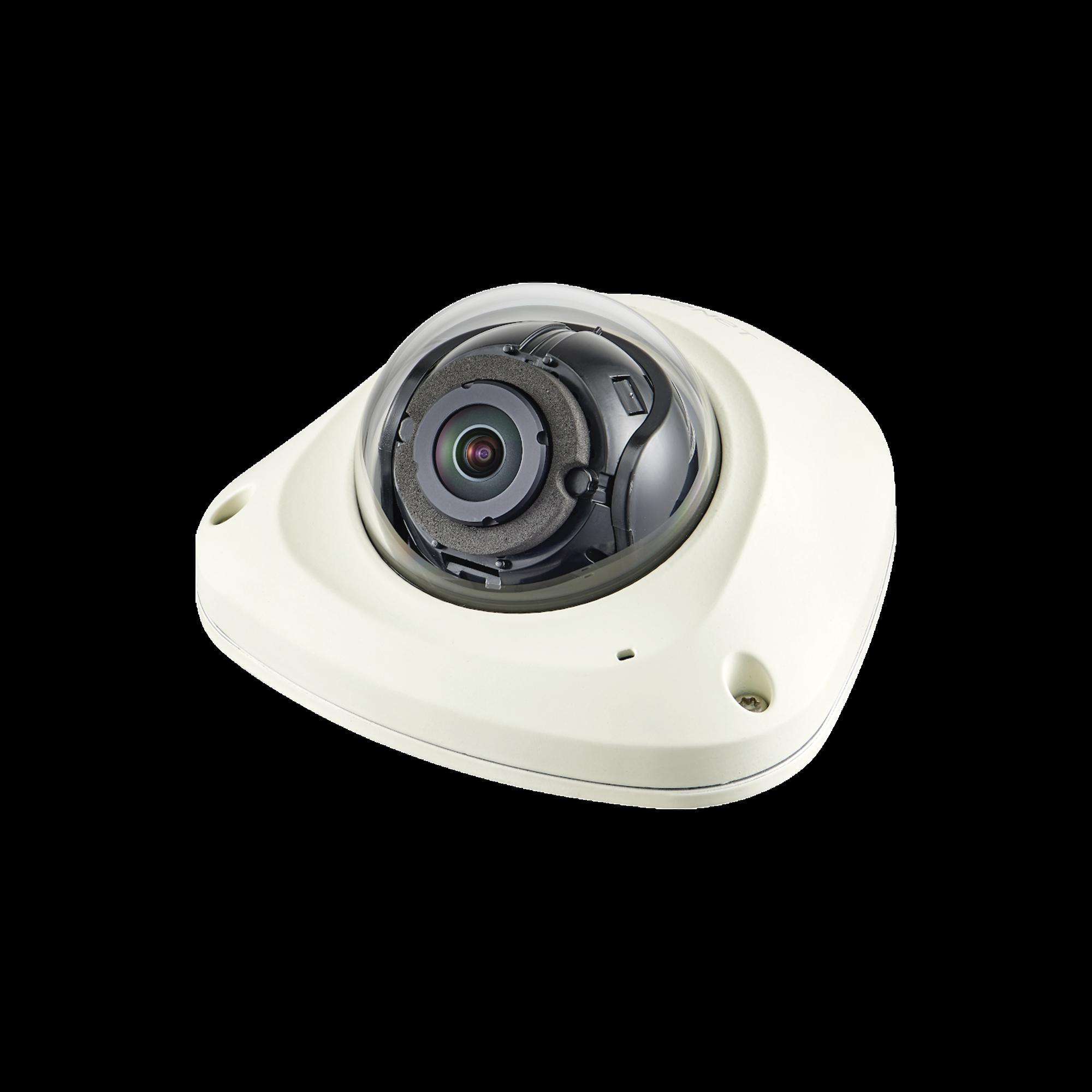 Cámara IP Mini Domo Antivandálica 2MP / Lente 2.4mm / WDR 150db / IP66 / H.265 & WiseStream II