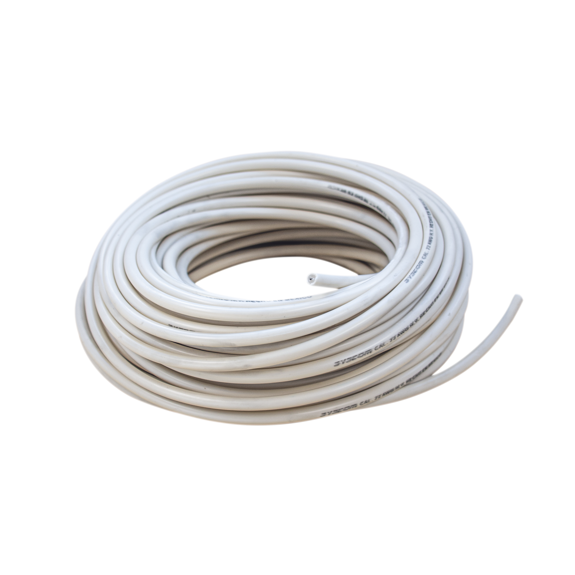 Cable doble aislado de alta durabilidad para cercas electrificadas Bobina con 25 mts