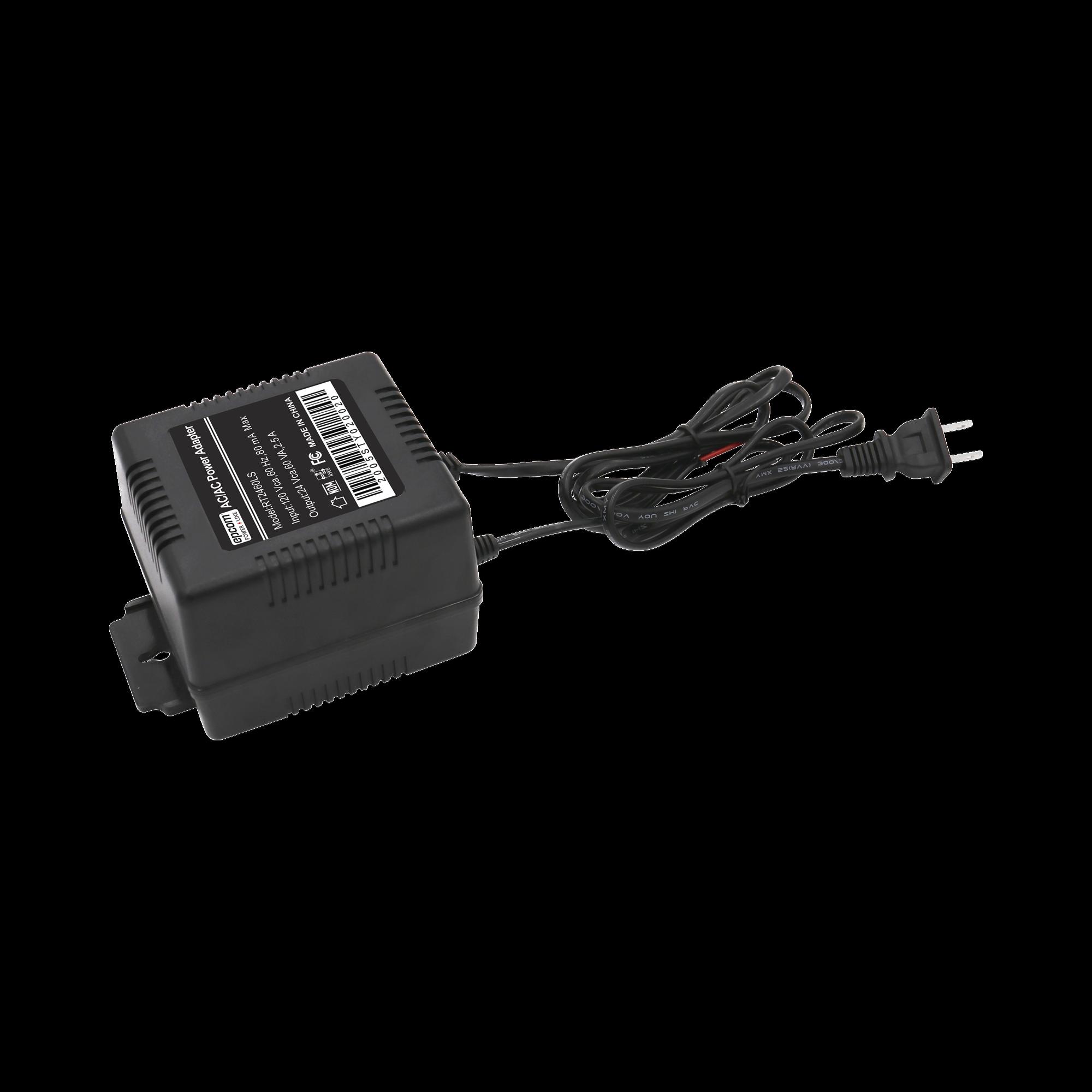 Transformador de 24 Vca, 60 VA