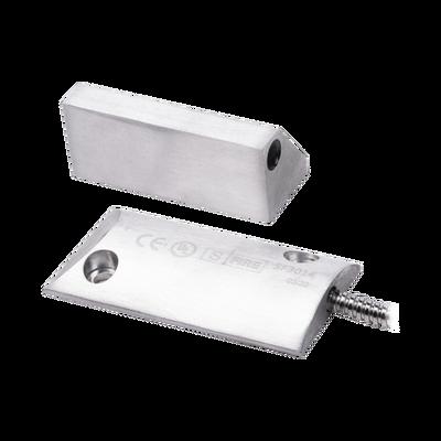 Contacto magnético para piso uso rudo con 55cm de cable blindado