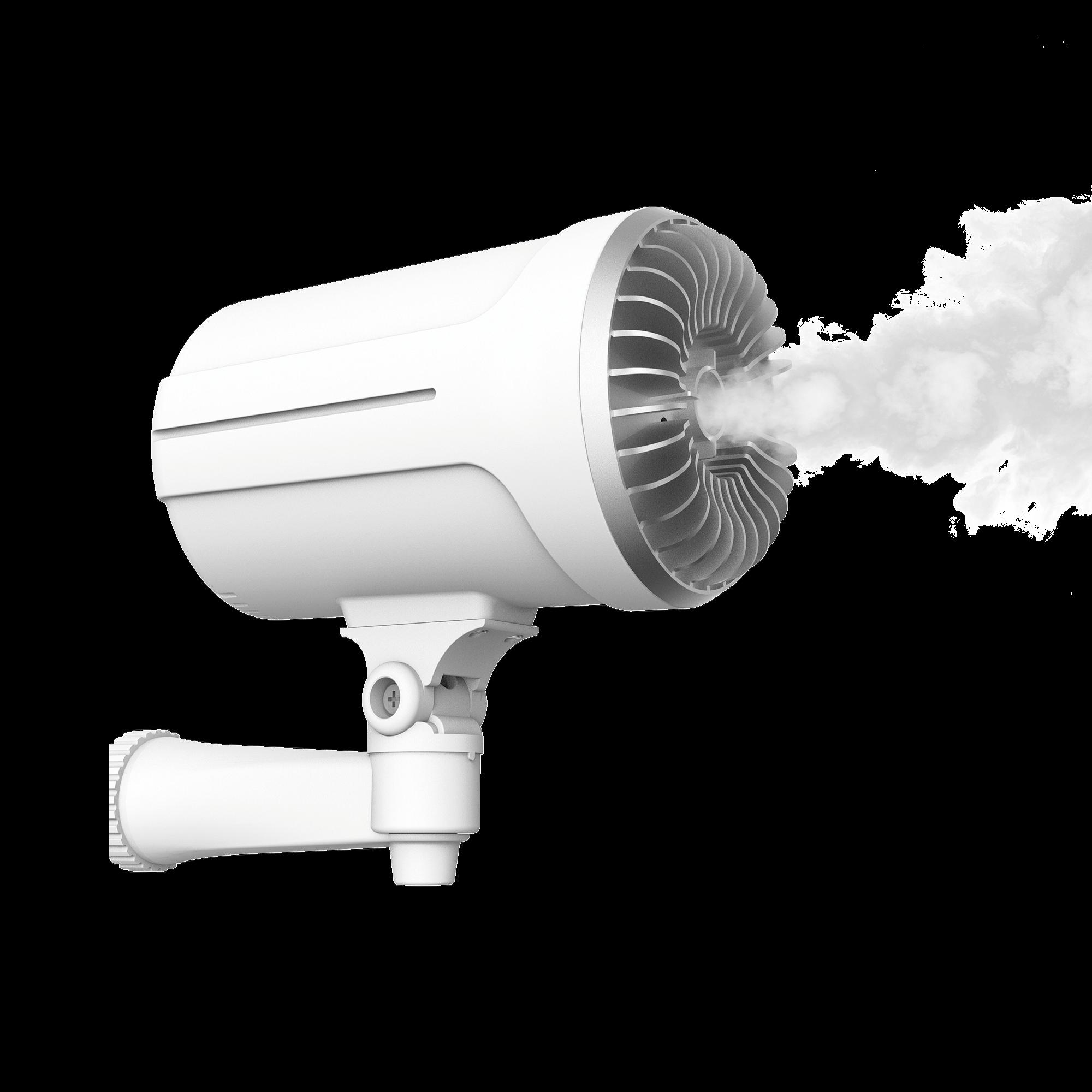 Generador de Niebla / 1 Disparo /  Cubre 150m? en 10 segundos / Activado por Contacto Seco