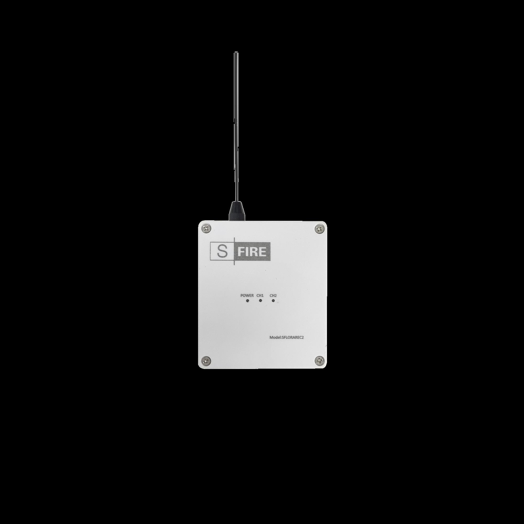 Receptor inalambrico / 2500 metros de cobertura / 2 salidas de relevador tipo C