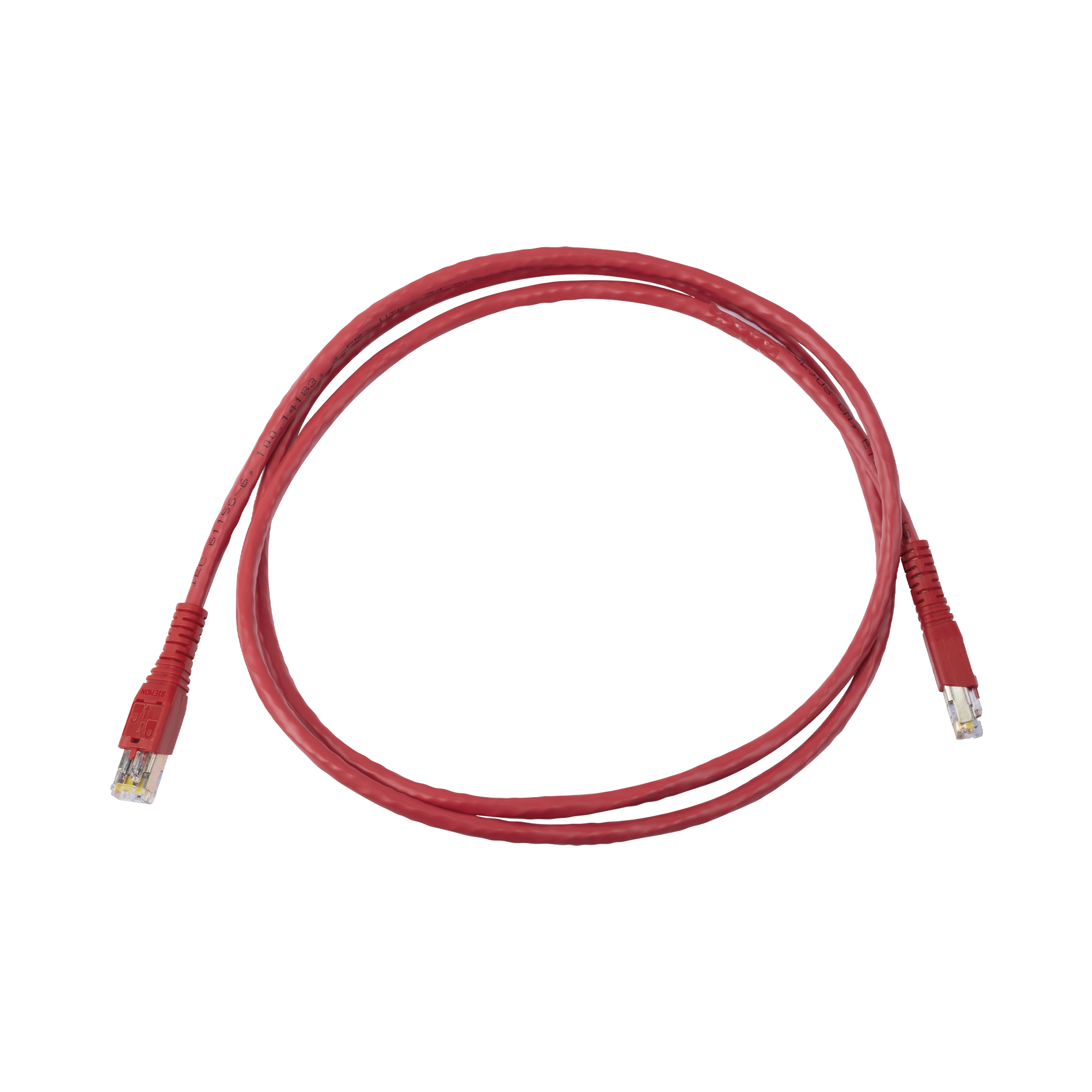 Patch Cord Tipo BladePatch, Desconexión Desde la Bota, Cat6, 5ft, Color Rojo