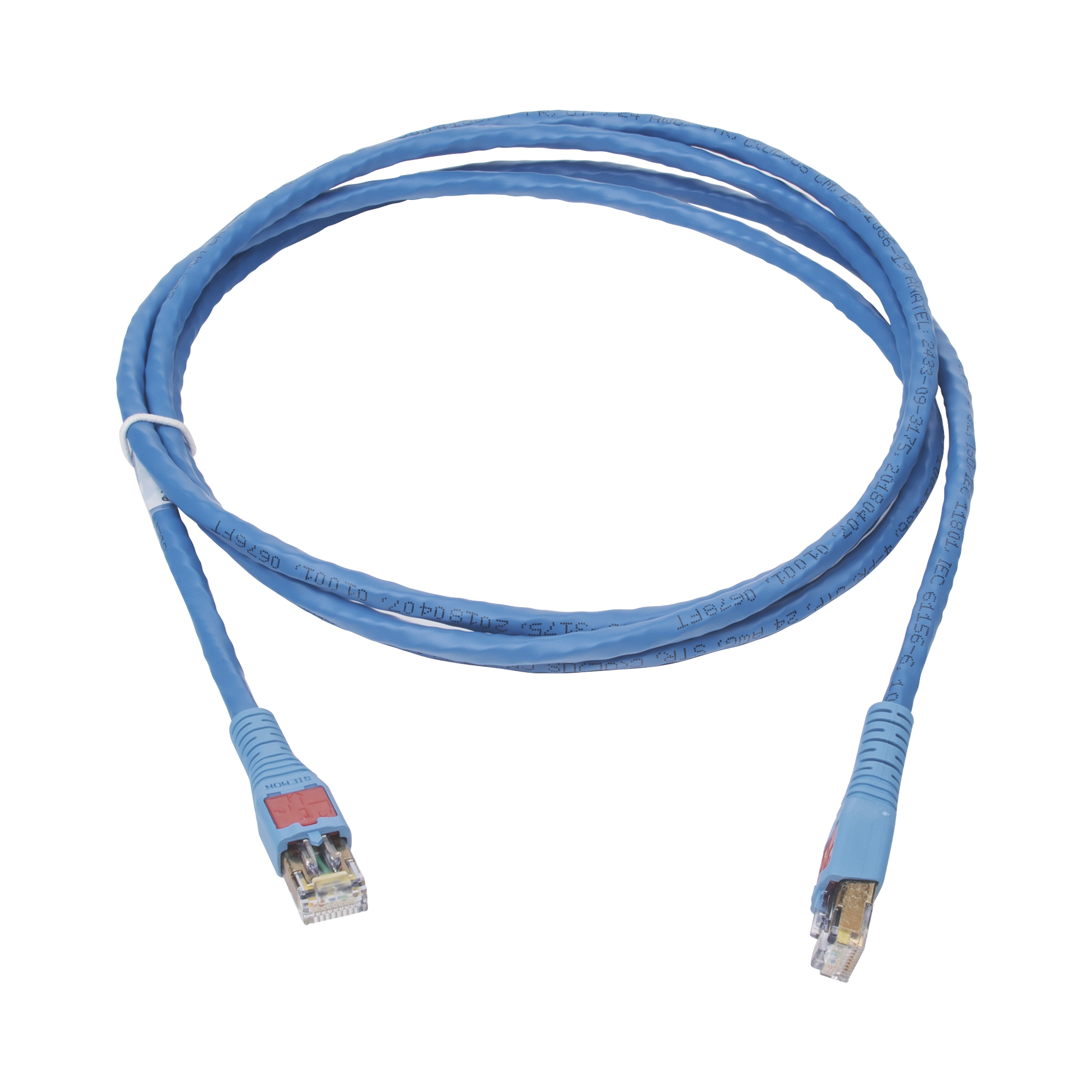 Patch Cord Tipo BladePatch, Desconexión Desde la Bota, Cat6, 7ft, Color Azul, Versión Bulk (Sin Empaque Individual)