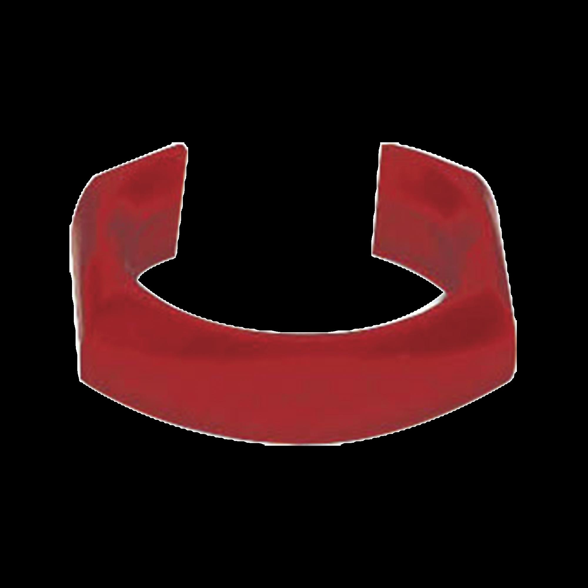 Clip de identificación para Patch Cord Siemon, Color Rojo, Bolsa con 25 piezas