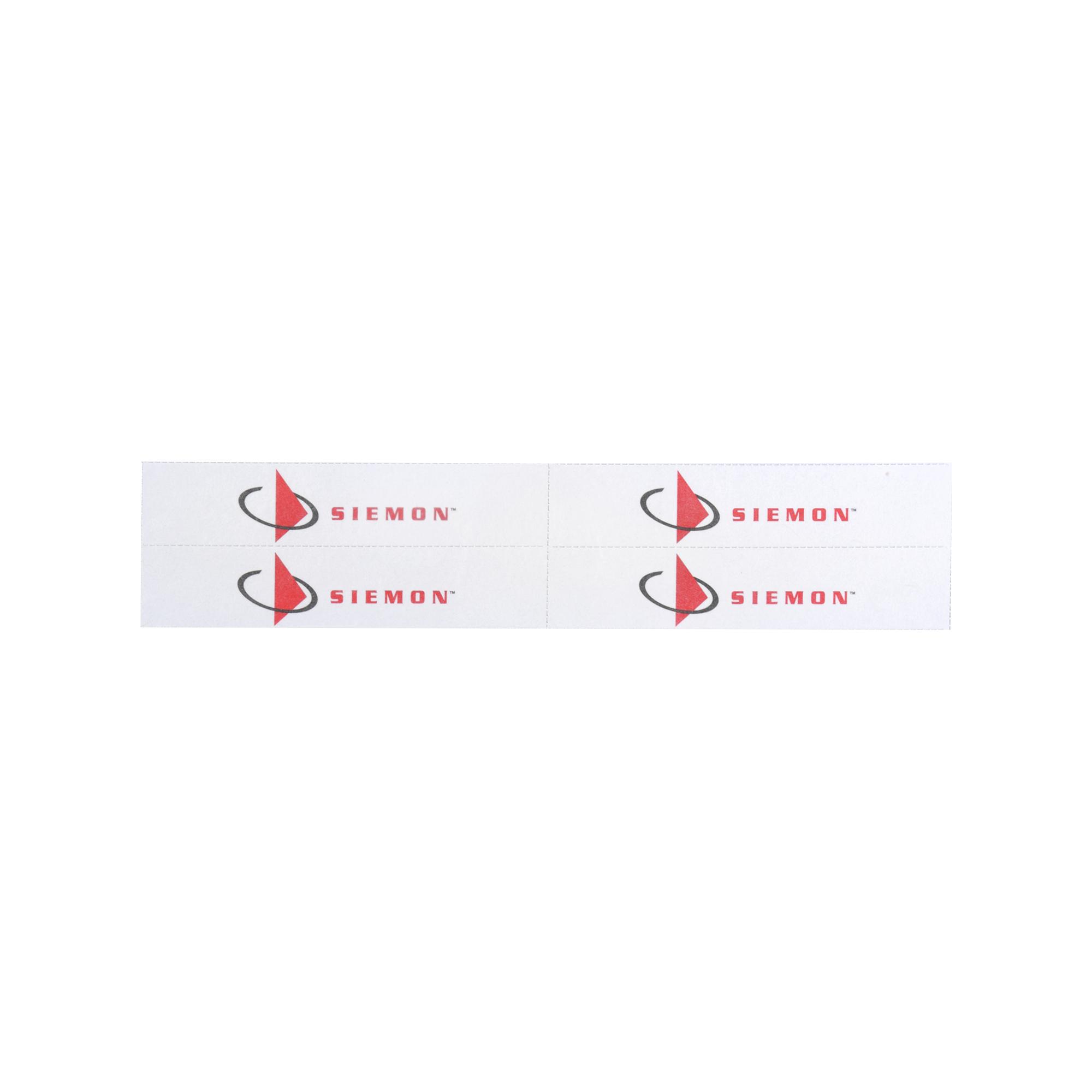 Hoja de Etiquetas para Face Plate CT, 10 Hojas, Para 104 Etiquetas