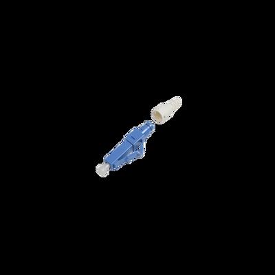 Conector de Fibra Óptica pre-pulido LightBow LC/UPC Simplex, Monomodo OS1/OS2, re-terminable, Color Azul