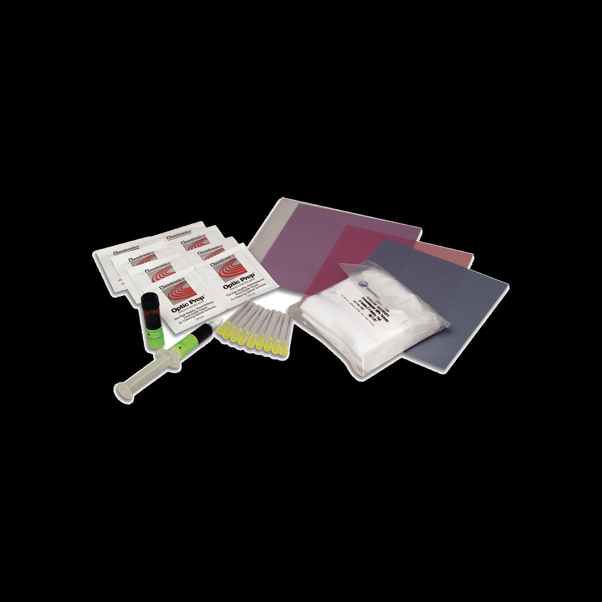 Kit de Consumibles Para Conectores de Fibra óptica, Uso con Kit FTERM-L2, Para 200 Conectores Monomodo o Multimodo