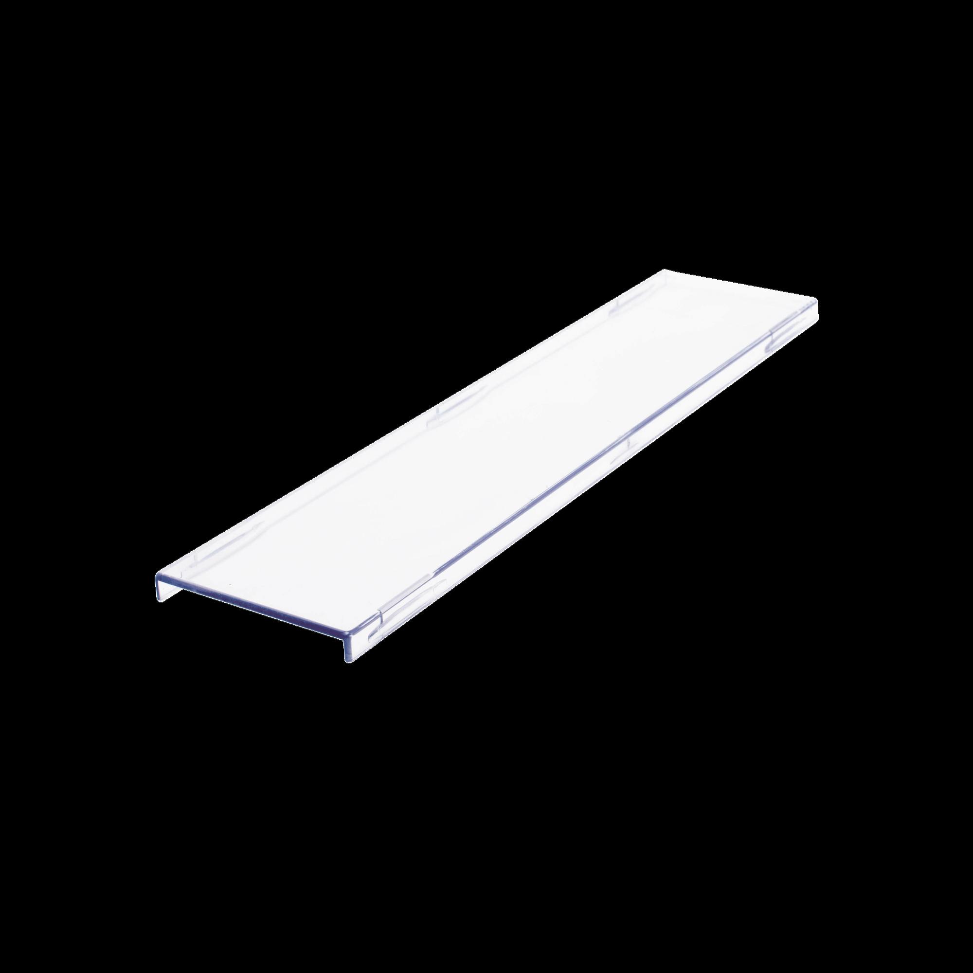 Tapa color blanco Para uso con Regleta S66 de Siemon