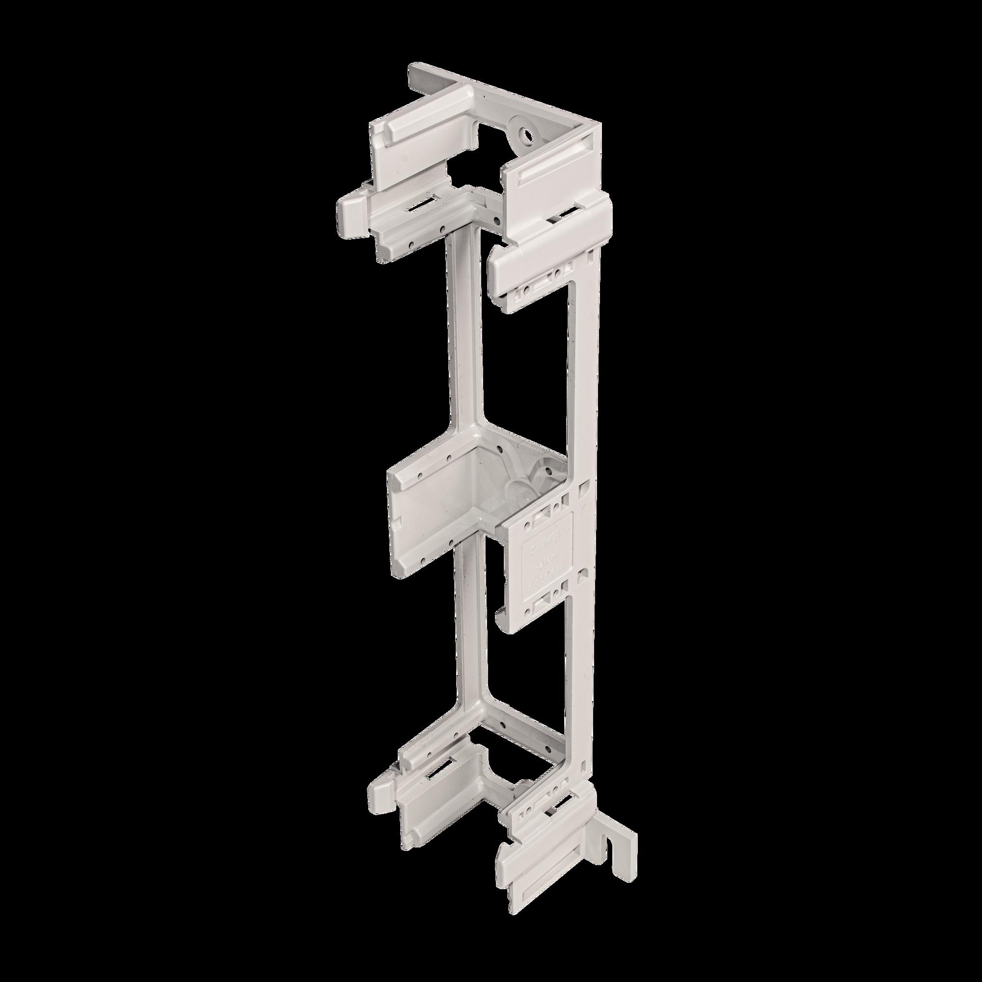 Bracket para Montaje de Regleta S66, Acepta 1 regleta M150, 6 conectores de 25 pares