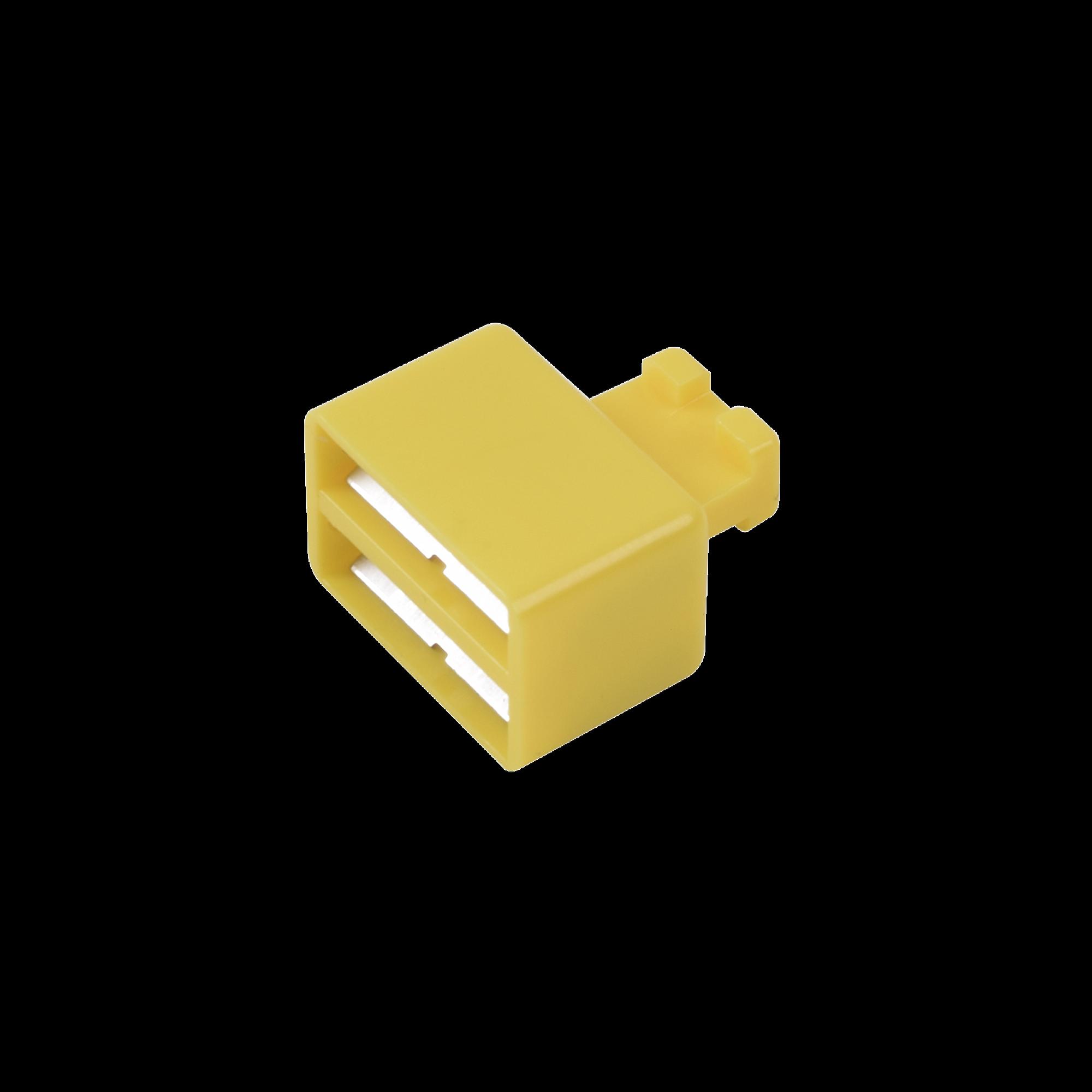Clip de Puente, Para Uso con Regletas S66 de Siemon, de 1 par, Color Amarillo