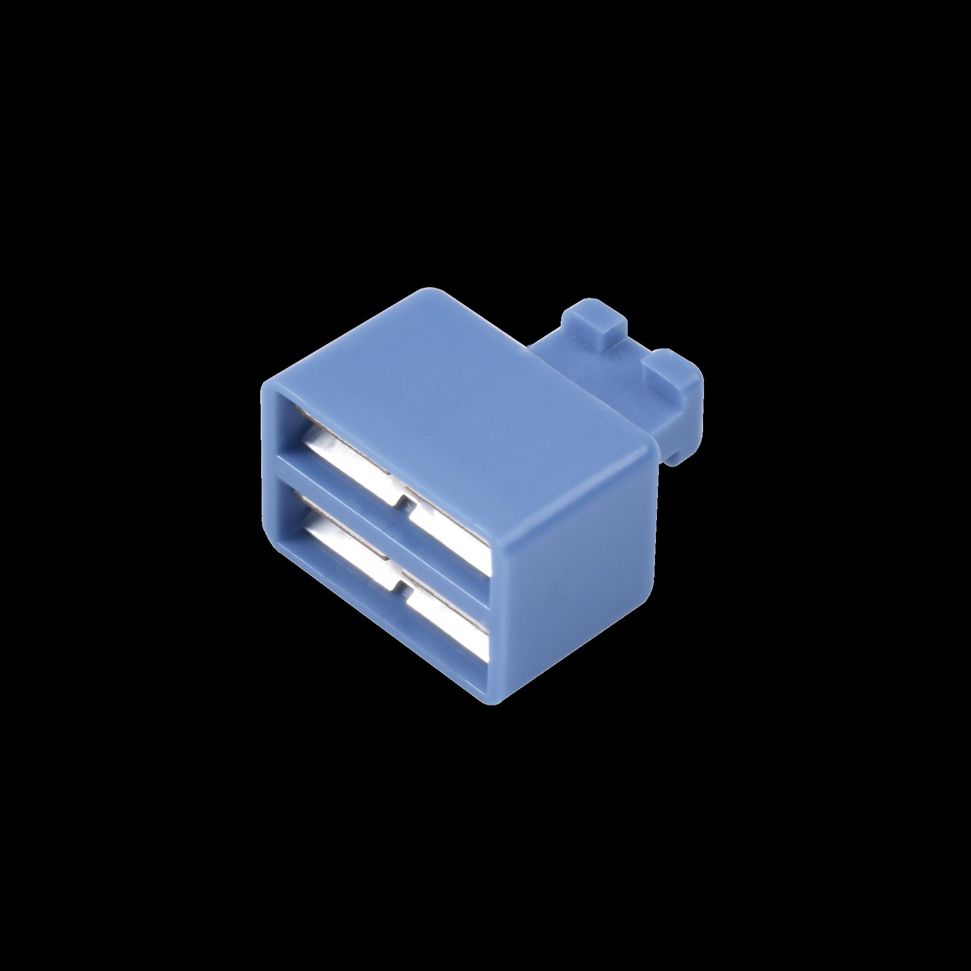 Clip de Puente, Para Uso con Regletas S66 de Siemon, de 1 par, Color Azul