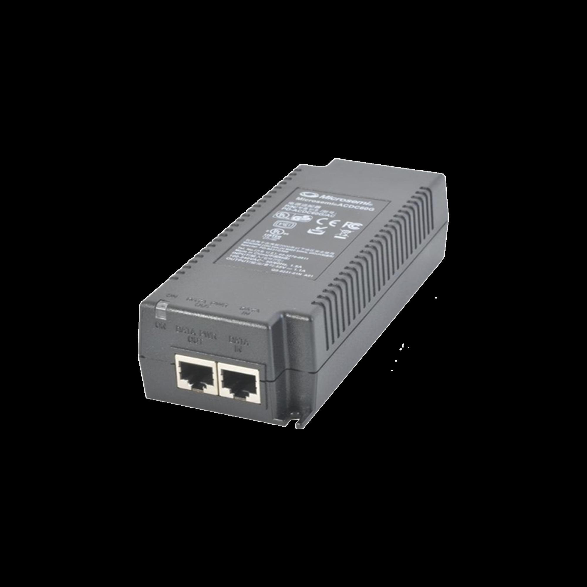 Inyector PoE 60w (alimentación 100-240 ac cable tipo us ac)