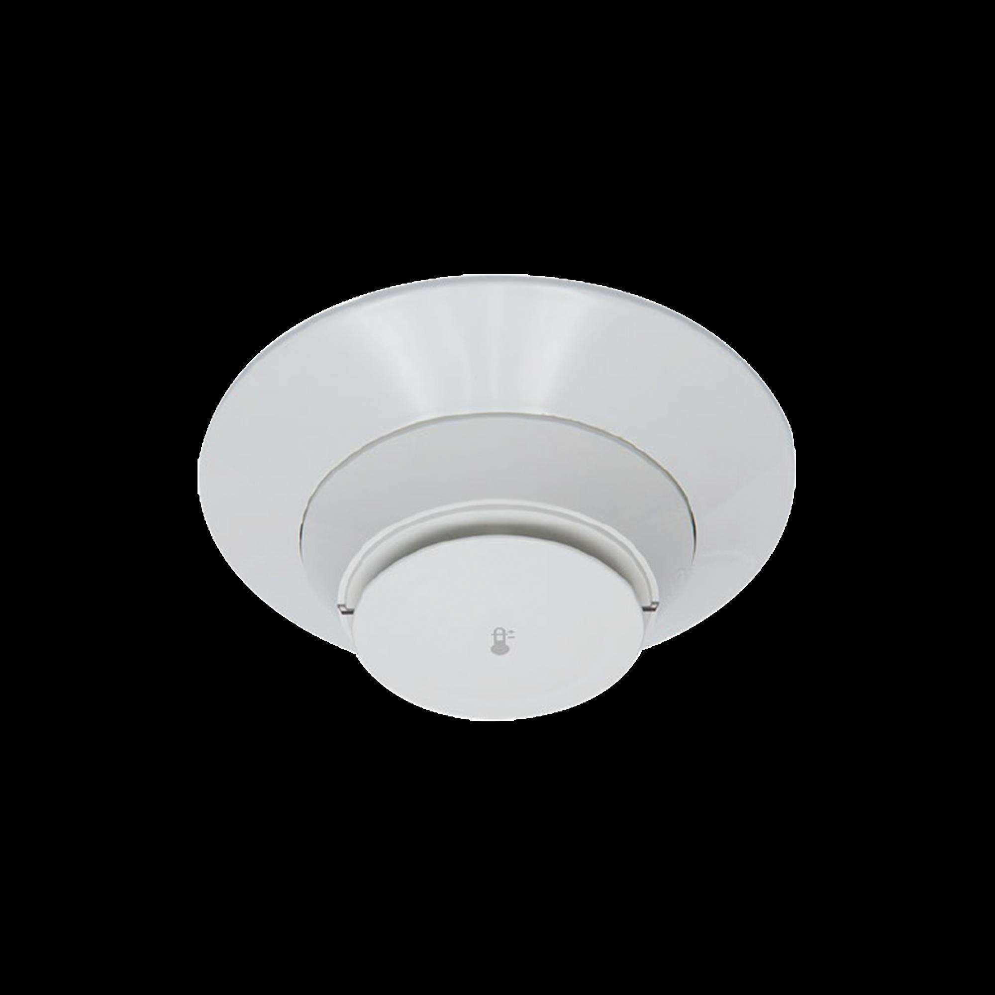 Detector de Calor Fijo a 57 ?C / Direccionable / Incluye Base / Color Blanco