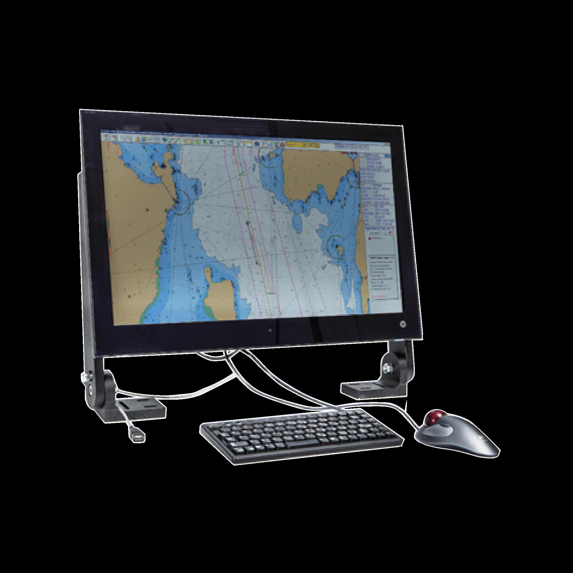 Sistema SIMRAD Maris ECDIS900 MK15 con pantalla de 24